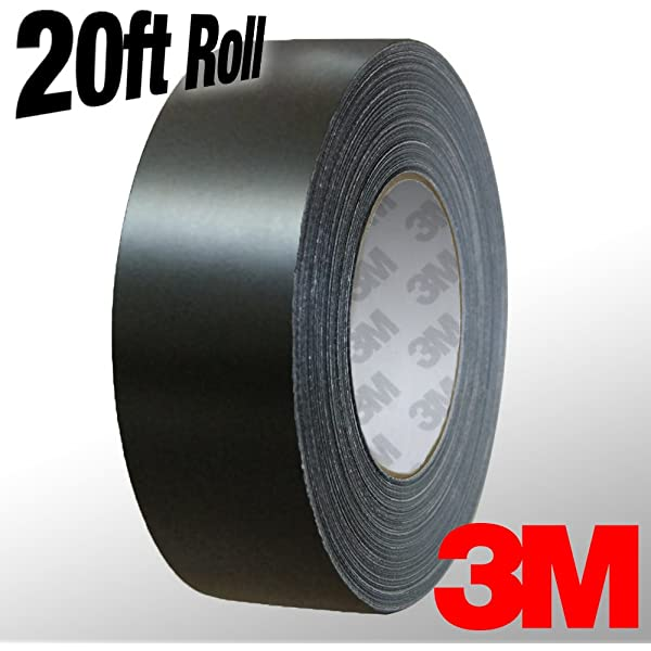 1 x 20ft VViViD 3M 1080 Grey Anthracite Gloss Vinyl Detailing Wrap Pinstriping Tape 20ft Roll