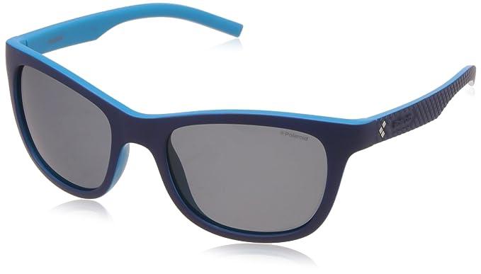 4f83cf0c11 Polaroid Men's PLD 7008/S C3 ZX9 54 Sunglasses, Bluette Azure/Grey ...