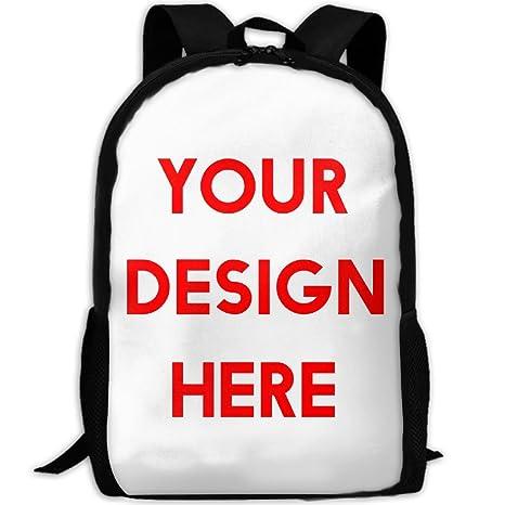 Amazon.com  Custom Backpack Briefcase Laptop Travel Hiking School ... 22dd4da78
