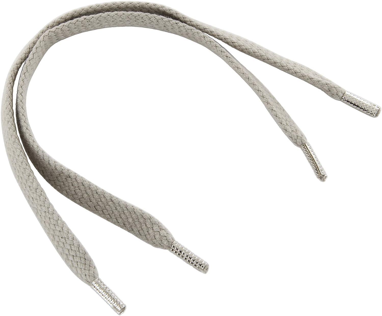 6-7 mm breit bis 600 cm Rema Schnürsenkel Dunkelgrau flach ca 126 111