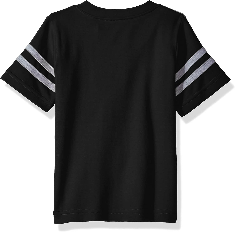 Two Feet Ahead NCAA Colorado Buffaloes Toddler Boys Football Shirt Black 4