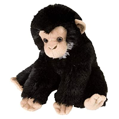 Wild Republic Chimp Baby Plush, Stuffed Animal, Plush Toy, Gifts For Kids, Cuddlekins 8 Inches: Toys & Games