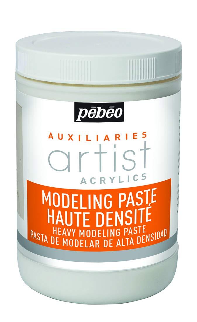Pebeo 1 Litre Heavy Modeling Paste, White