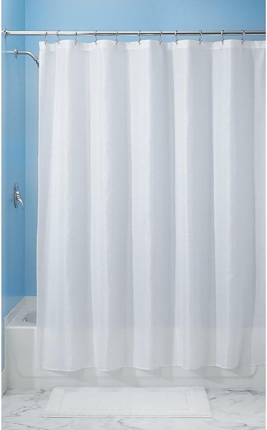 Amazon Com Interdesign 96 Inch Carlton Spa Long Shower Curtain