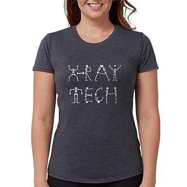 5ef764a9 Amazon.com: CafePress X-Ray Tech T-Shirt Womens Tri-Blend T-Shirt ...