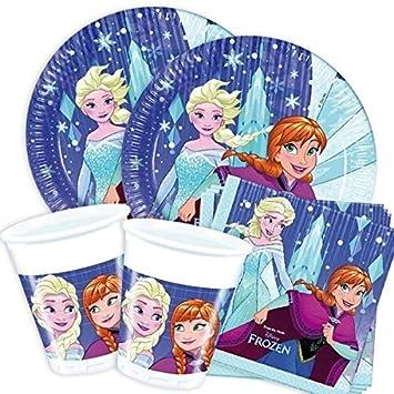 geburtstagsfee Frozen Snowflake de Set, cumpleaños infantil ...