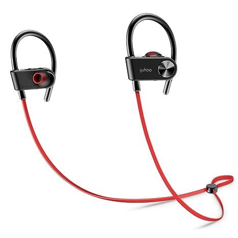 Auriculares Bluetooth y Deportivos,Cascos Inalámbricos con de Correr El Senderismo Gym Training Fitness Workout