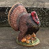 Large Bronze Glitter Turkey