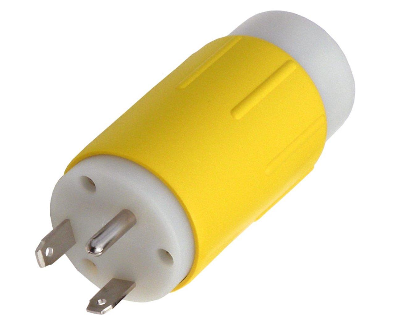 Canavis Rl14109 Rv 30 Amp Plug Tt 30p 14 50r 50 125 Electrical Receptacle 3 Wire 20 Amps 250v Nema 6 20r Yga022f Ebay Adapter Automotive