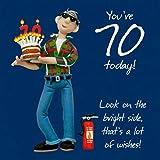 Twizler 70th Birthday Card
