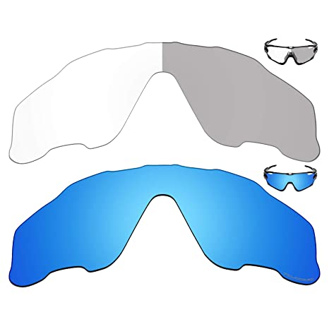92216cf502e Image Unavailable. Image not available for. Color  Mryok+ 2 Pair Replacement  Lenses for Oakley Jawbreaker ...