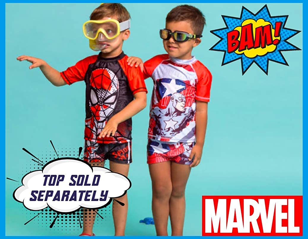 Marvel Avengers 1038 Slip de Bain Officiel pour Enfant de 4 /à 10 Ans