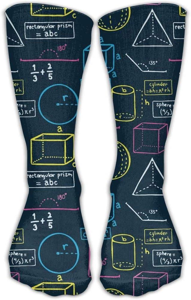 Donna Uomo Classici Calzini Matematica Equazione Scuola Classico Calze 30cm Lungo Calza Taglia Unica