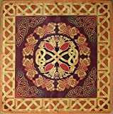 Series Tablecloths Ancient Celts Seasons. Spring - Flourish 16х16 Cloth Wicca Pagan Witch Shawl