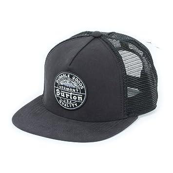 90a50ac2d5e Burton Herren Cap MB MARBLE HEAD - TRUE BLACK