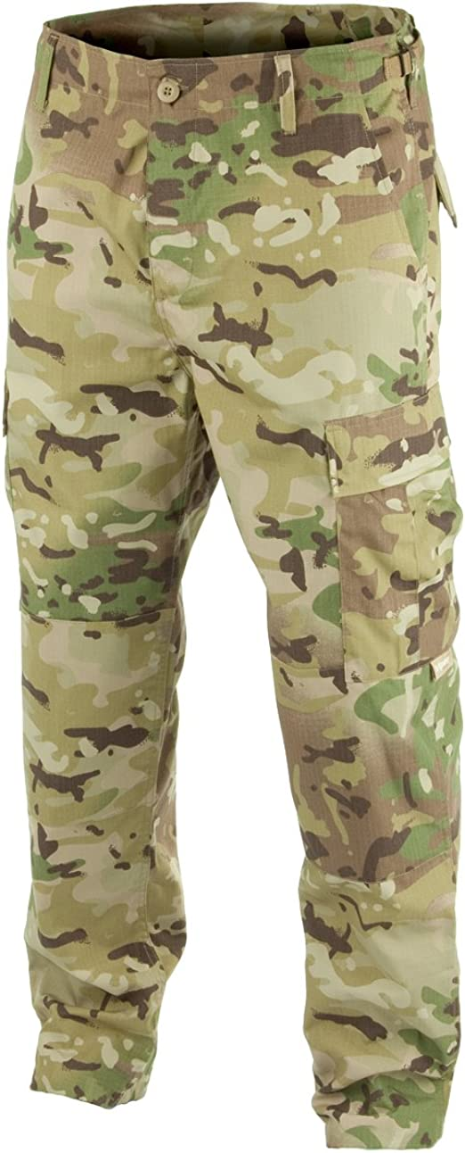 Helikon Classic BDU Army Combat Trousers Mens Soldier Tactical Cargo Pants Black