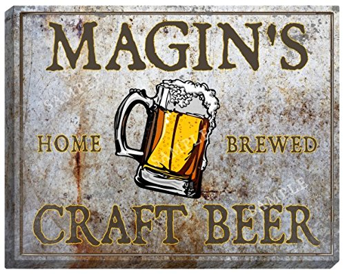 Magins Craft Beer Stretched Canvas Sign