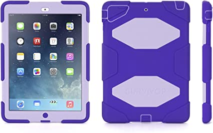 Griffin GB36406 Purple Case Cover for Tablet Tablet Cases (Case, Apple, iPad Air, Purple)