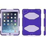 Griffin iPad Air Rugged Case, Survivor All-Terrain Case + Stand Purple/Lavender