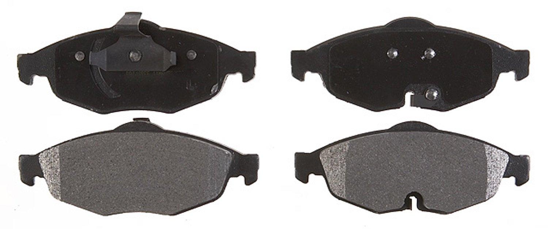 ACDelco 17D869M Professional Semi-Metallic Front Disc Brake Pad Set