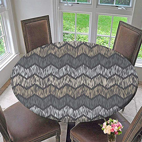 (Chateau Easy-Care Cloth Tablecloth Ethnic Boho Ikat Print Repeat Background Cloth Design Wallpaper for Home, Party, Wedding 50