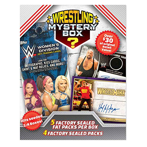 (Wrestling Cards 2018 Mystery Box 2 Decks - 5 Factory Sealed Fat Packper Box + 4 Factory Sealed Pack)