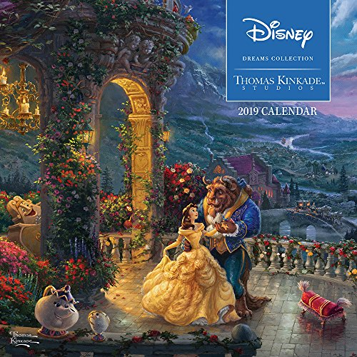 Painters Studio - Thomas Kinkade Studios: Disney Dreams Collection 2019 Wall Calendar