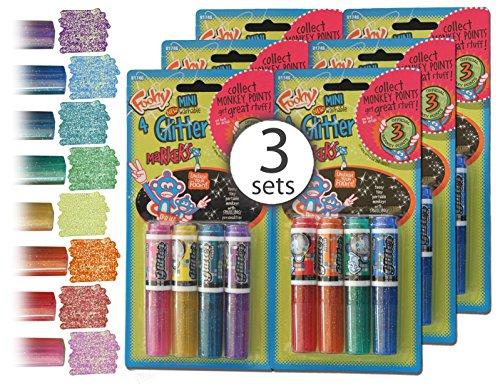 Mini Glitter Markers Washable Wholesale
