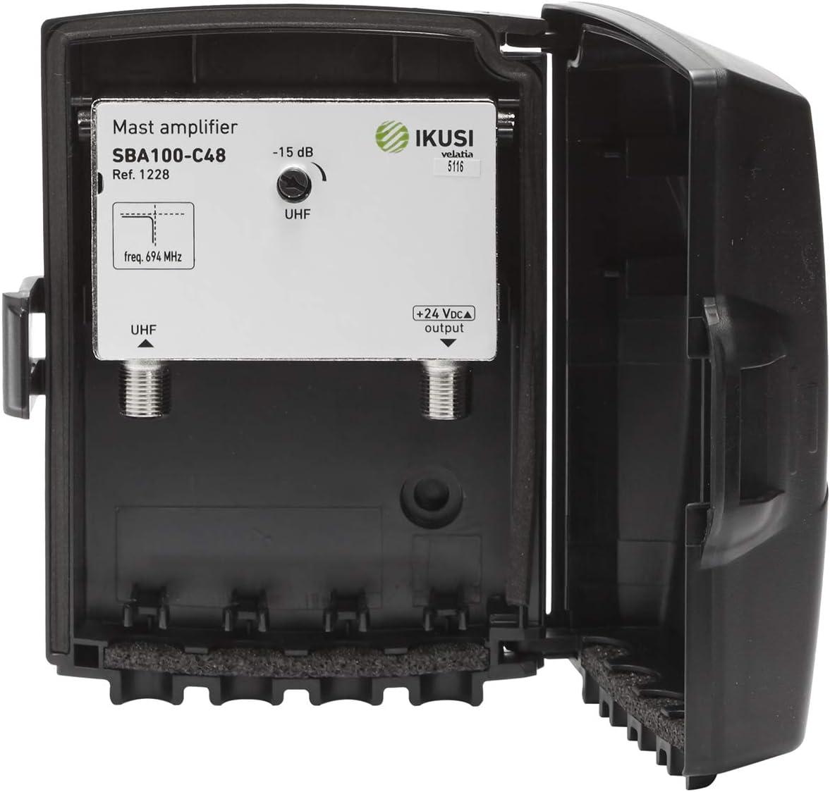 Amplificador IKUSI SBA100-C48 5G