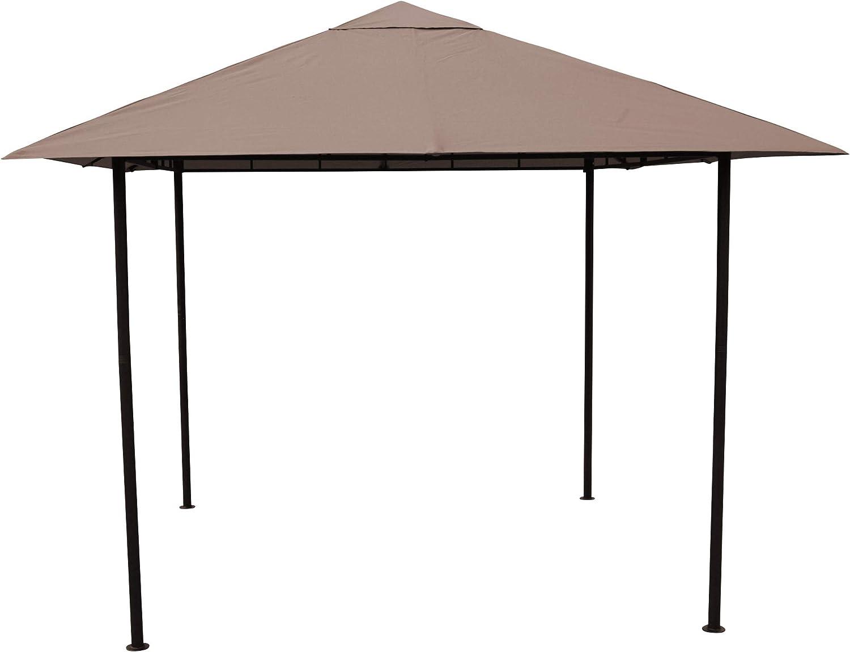 Grasekamp - Cenador de Calidad Desde 1972, 3 x 3 m, Color marrón ...