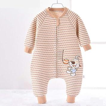 Perro Travieso Algodón De Horno Mantener Caliente Pierna Partida Bolsa De Dormir Niño Respirable Pijama Pieza