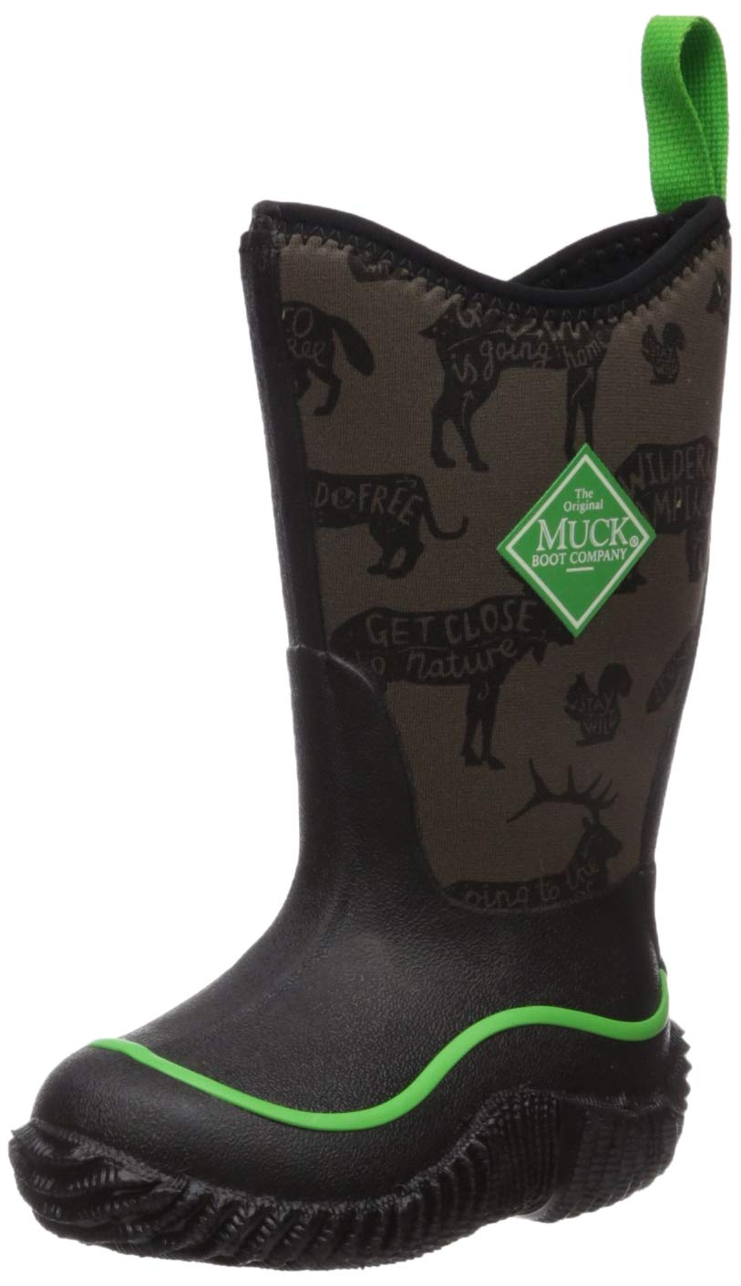 Muck Boot Unisex Hale Knee High Boot, Green, Child 8 Regular US Big Kid by Muck Boot