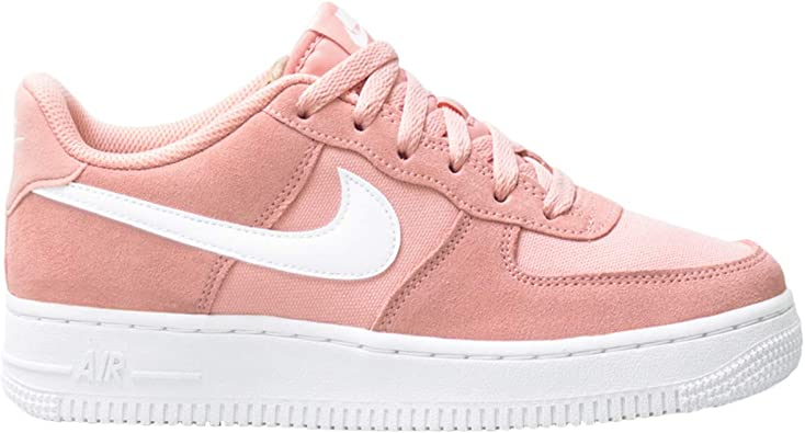 Nike Niike Air Force 1 PE (GS), Scarpe da Basket Bambino