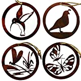 Chevelon Goods Rustic Metal Ornament Set – Garden Wings Review