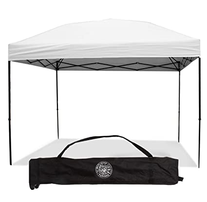 Pop Up Canopy Tent >> Pop Up Canopy Tent 10 X 10 Feet White Uv Coated Waterproof Outdoor Party Gazebo Tent