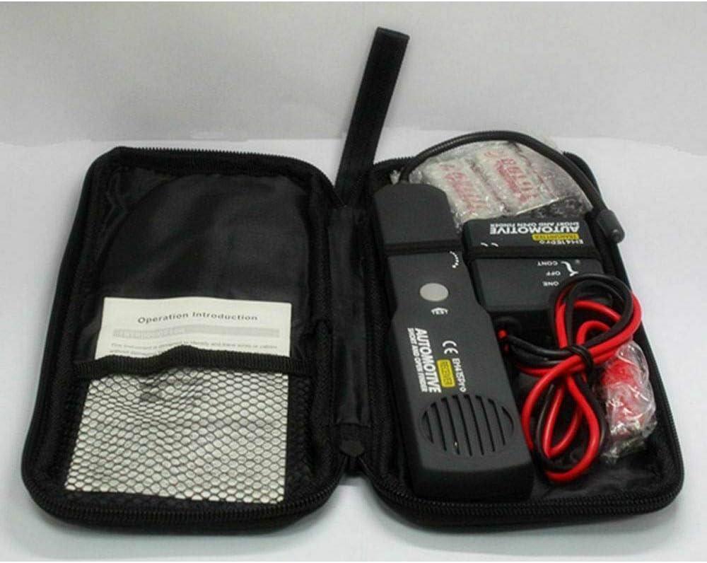 Digital Car Circuit Scanner Herramienta de diagn/óstico Circuito Detector de cortocircuito Buscador de l/ínea Probador de circuito abierto Adecuado para todos los autom/óviles