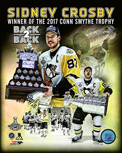 Conn Smythe Trophy - Sidney Crosby Pittsburgh Penguins 2017 Conn Smythe Trophy Composite Photo (Size: 8