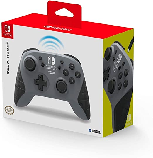 HORI - Horipad inalámbrico gris (Nintendo Switch): Amazon.es ...