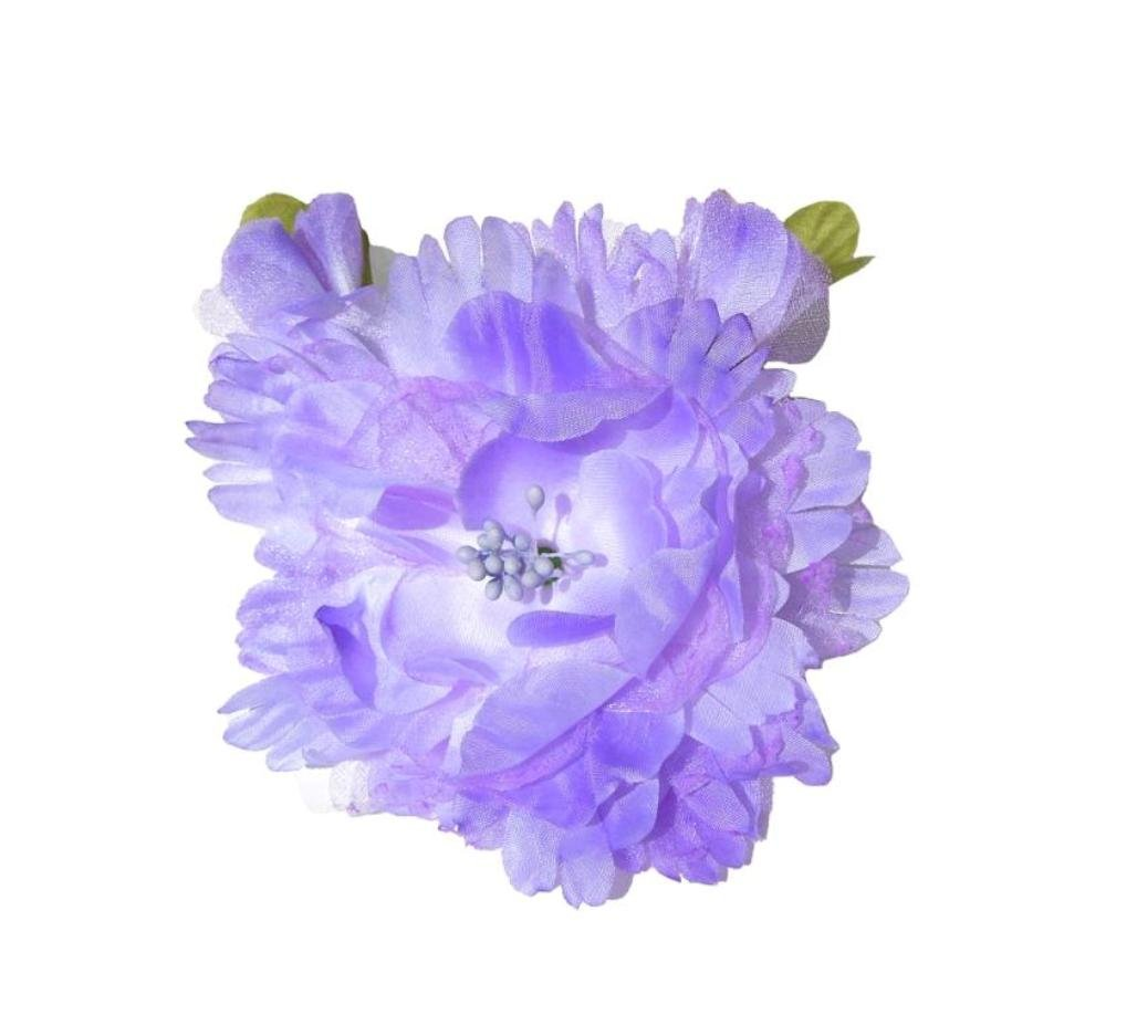 Cuteque-International-Organza-and-Silk-Peony-with-2-Rosebuds-Attached-Pack-of-3-4-Iris