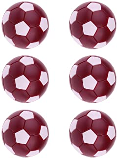 FITYLE Table De Foot Football Machine 36mm Foosball en Plastique - Orange