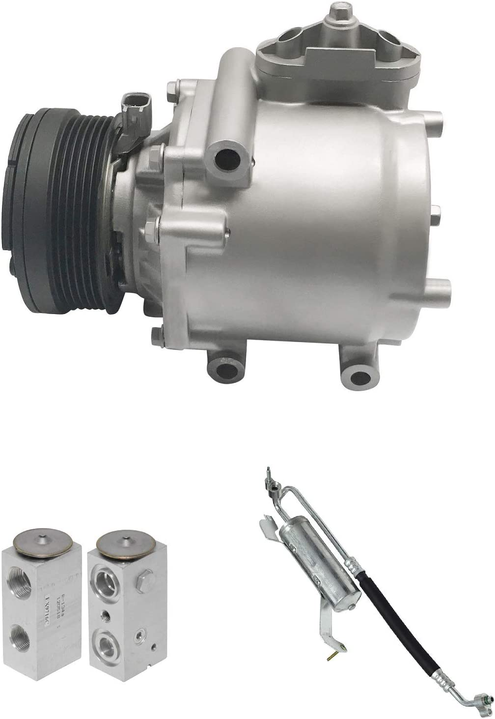 RYC Remanufactured AC Compressor Kit KT CI69