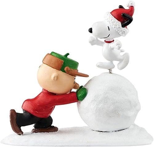 Department 56 Peanuts Snowball Dancing Figurine, 3.75