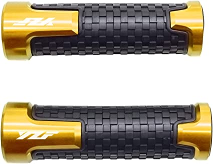 "CNC Motorcycle 7//8/"" 22mm Handlebar Hand Grip Black YAMAHA R1 R6 R6S FZ1 FZ6"