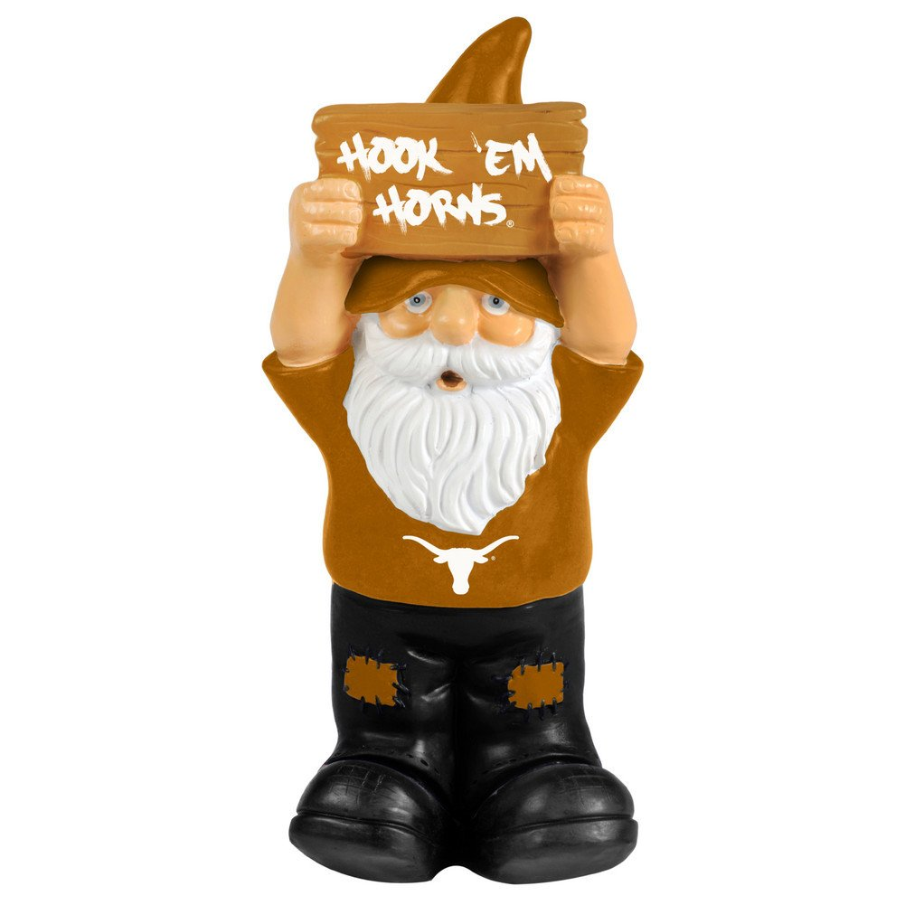 Elite Fan Shop Texas Longhorns Garden Gnome