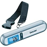 Beurer Digital Luggage Scale Up to 40 kg, Silver LS06