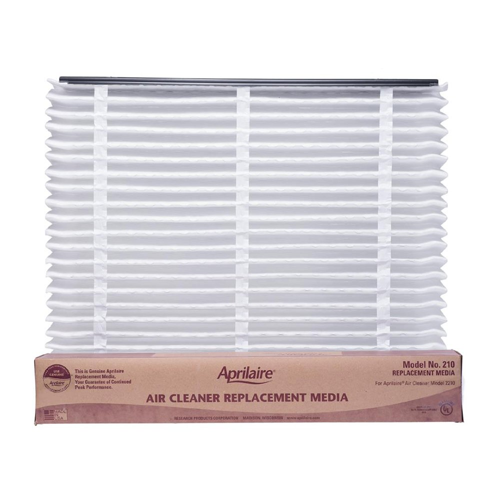 Aprilaire 210 Air Filter for Air Purifier Models 1210, 2210, 3210, 4200; Pack of 8