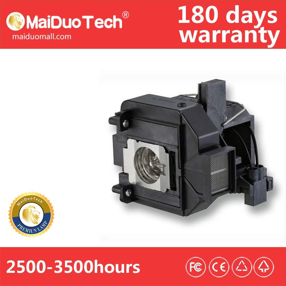 MaiDuoTech 交換用プロジェクターランプ電球 Epson V13H010L69/ELPLP69用 ハウジング付き ホームシネマ PowerLite EH-TW8000 HC5030 EH-TW9000用   B07PPTB6Z7