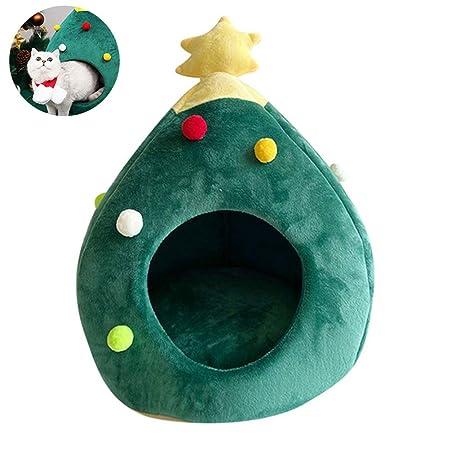 Ysoom Cama para Gatos diseño de Cueva de Gato, árbol de ...