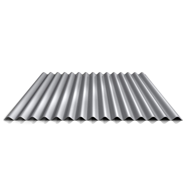 Wellblech Profilblech Profil PA18//1064CW Material Aluminium Beschichtung 25 /µm Wandblech Farbe Moosgr/ün St/ärke 0,70 mm