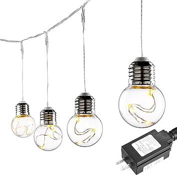 Amazon.com: LE G45 25 LEDs Globe String Light Bulbs, 20ft Water ...